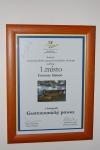 Ocenění - Ocenění na mezinárodním Gastro festivalu